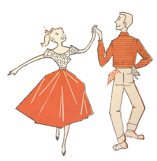 how to dance to old time music